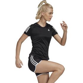 adidas OWN The Run T-Shirt Dames, zwart